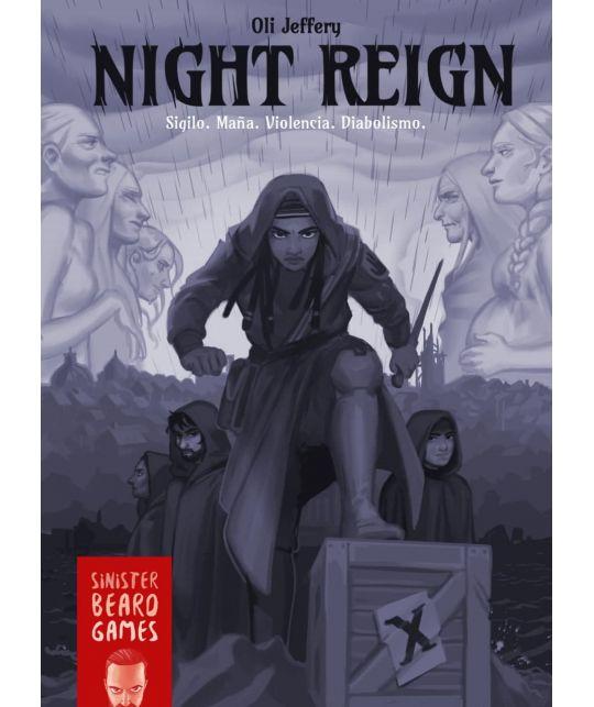 Portada Night Reign